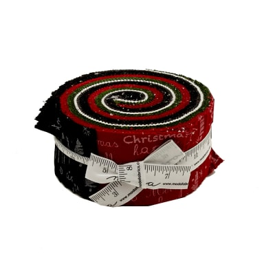 Moda Merry Scriptmas Jelly Roll