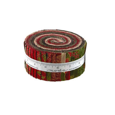 Moda Magnolia Metallics Jelly Roll