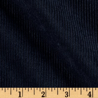 10 Wale Polyester Corduory Navy