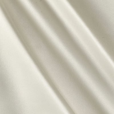 Debutante Stretch Satin Off White