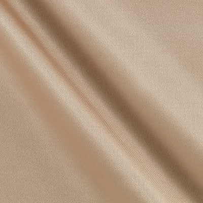 Debutante Stretch Satin Soft Beige