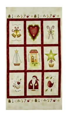 "All Things Christmas 23.5"" Panel Multi"