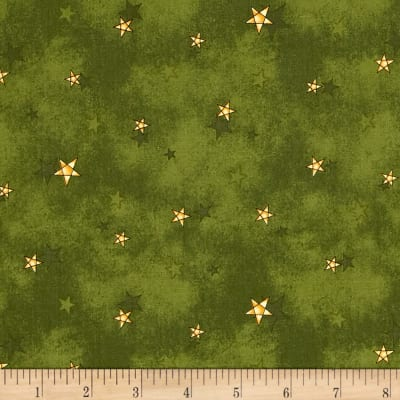 All Things Christmas Stars Dark Green