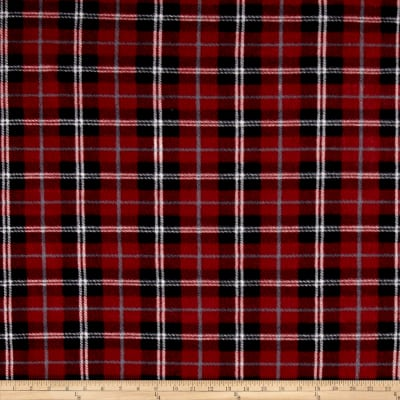Polar Fleece Plaid Red/Black