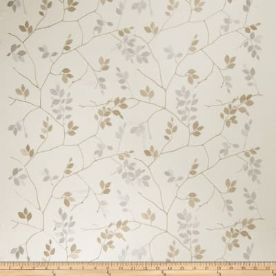 Fabricut Abia Leaf Linen Blend Natural