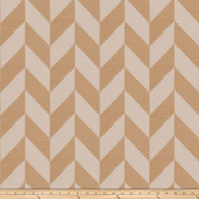 Fabricut Alcaic Chevron Chenille Honey