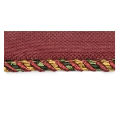 Fabricut Amaretto Cord Trim Bordeaux