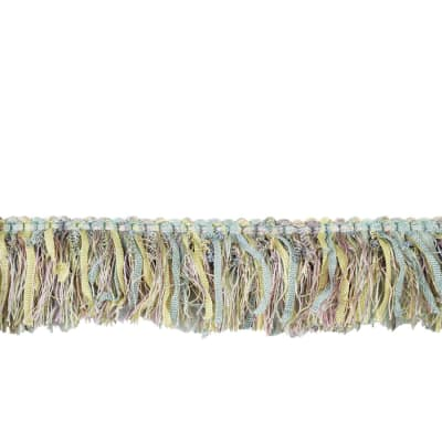 "Fabricut 2.25"" Barista Brush Fringe Dream"
