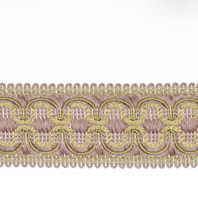 "Fabricut 2"" Beach House Trim Lavender Twist"