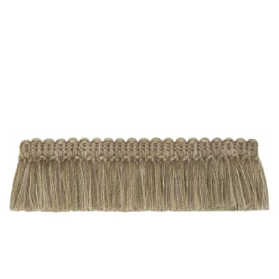 "French General 2"" Bernadette Brush Fringe Hemp"