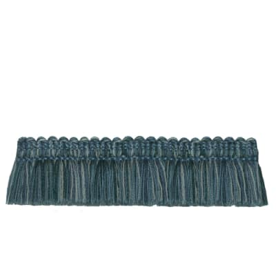 "French General 2"" Bernadette Brush Fringe Bleu"