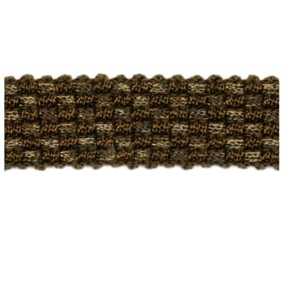 "Fabricut 1"" Bokar Trim Coffee"