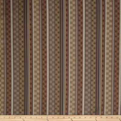 Fabricut Crypton Breeze Blocks Umber Gold