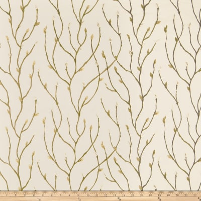 Fabricut Chinon Blossom Faux Silk Cream