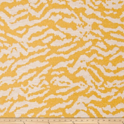 Fabricut Crossing Chenille Citron
