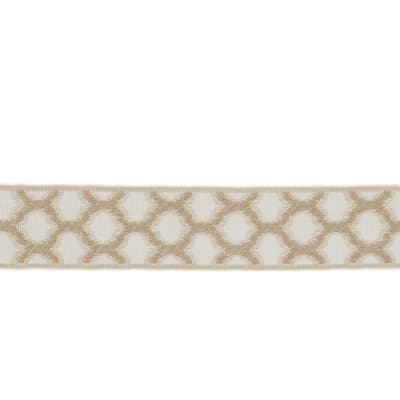 "Fabricut 1.5"" Decor Trim Natural"