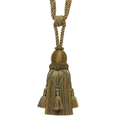 Fabricut Delancy Iv Single Tassel Tieback Herb Garden