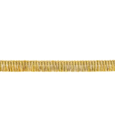 "Fabricut  7/8"" Dowlas Brush Fringe Gold"