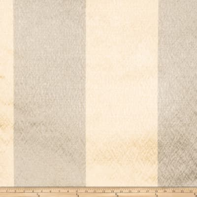 Fabricut Echo Stripe Faux Silk Starlight