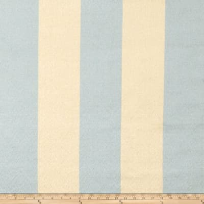 Fabricut Echo Stripe Faux Silk Aquahaze