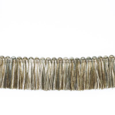 "Fabricut 1.5"" Escargot Brush Fringe Alloy"