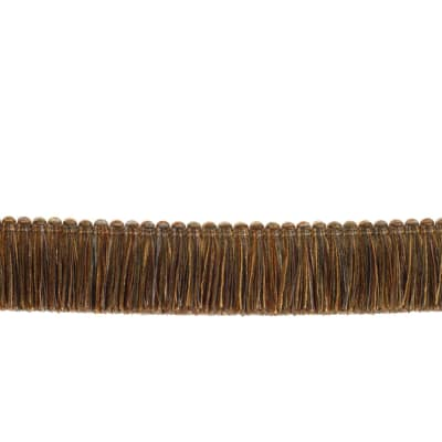 "Fabricut 1.5"" Escargot Brush Fringe Cantaloupe"