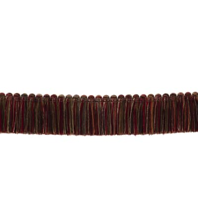 "Fabricut 1.5"" Escargot Brush Fringe Mansion"