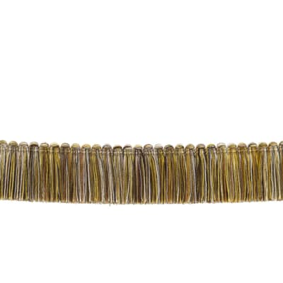 "Fabricut 1.5"" Escargot Brush Fringe Pear"