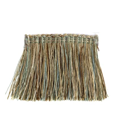 "Fabricut 2.5"" Festoon Brush Fringe Waterscape"