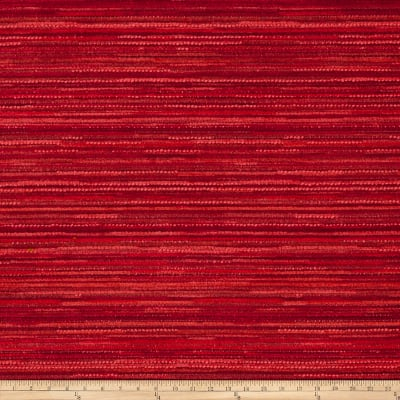 Fabricut Flash Chenille Vermillion