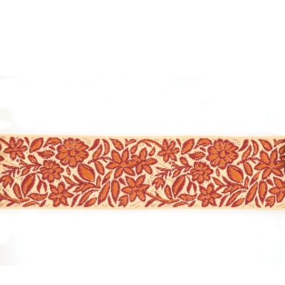 "Mount Vernon 2"" Gillyflower Trim Apricot Cinnamon"