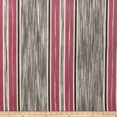 Fabricut Gypsy Stripe Pinkberry