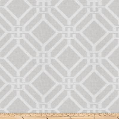 Fabricut Kama Lattice Snow Sparkle