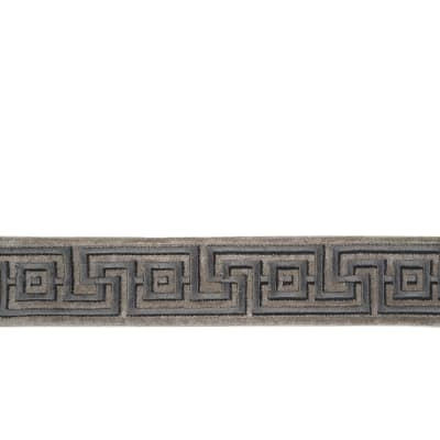 "Fabricut 2"" Keyway Trim Pewter"