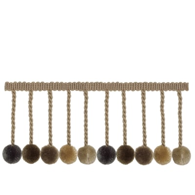 "French General 3.5"" Lautrec Ball Fringe Hemp"