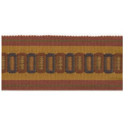 "Fabricut 2.25"" Lavazzo Trim Autumn Berry"