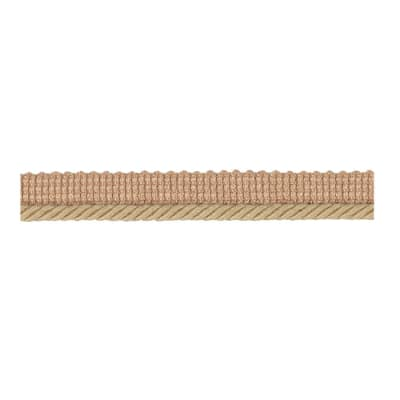 "Fabricut 1"" Lea Cord Trim Natural"