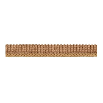 "Fabricut 1"" Lea Cord Trim Wheat"