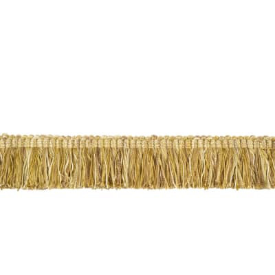 "Fabricut 2"" Luzianne Brush Fringe Honey"
