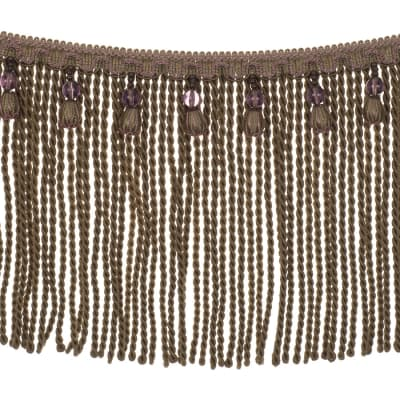 "Fabricut 9"" Mountain Resort Bullion Fringe Light Amethyst"