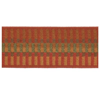 "Fabricut 2.25"" Nilgiri Trim Copper"