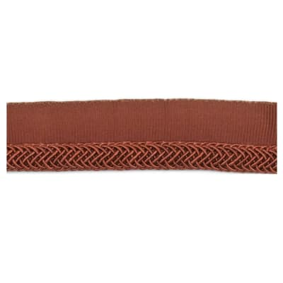 "Fabricut 1"" Oolong Cord Trim Copper"
