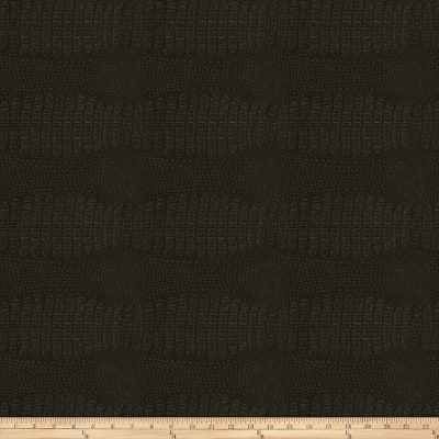 Fabricut Osmium Faux Leather Onyx