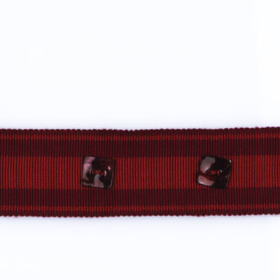 "Fabricut 1.625"" Padma Trim Berry"