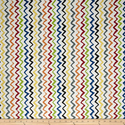 Fabricut Painted Zig Zag Paintbox