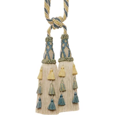 Ritz Paris Place Des Voges Double Tassel Tieback Cornflower