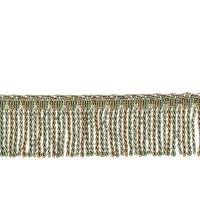 "Fabricut 2.5"" Porch Swing Bullion Fringe Shoreline"