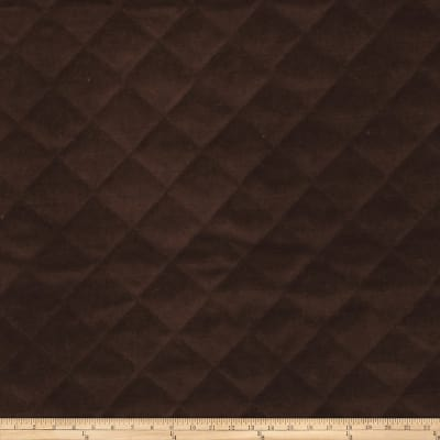 Fabricut Quilted Velvet Sable