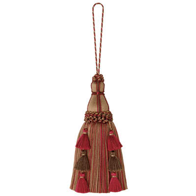 "Mount Vernon 10"" Regiment Key Tassel Mansion"
