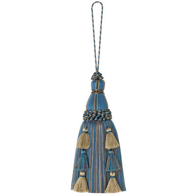 "Mount Vernon 10"" Regiment Key Tassel Cobalt"
